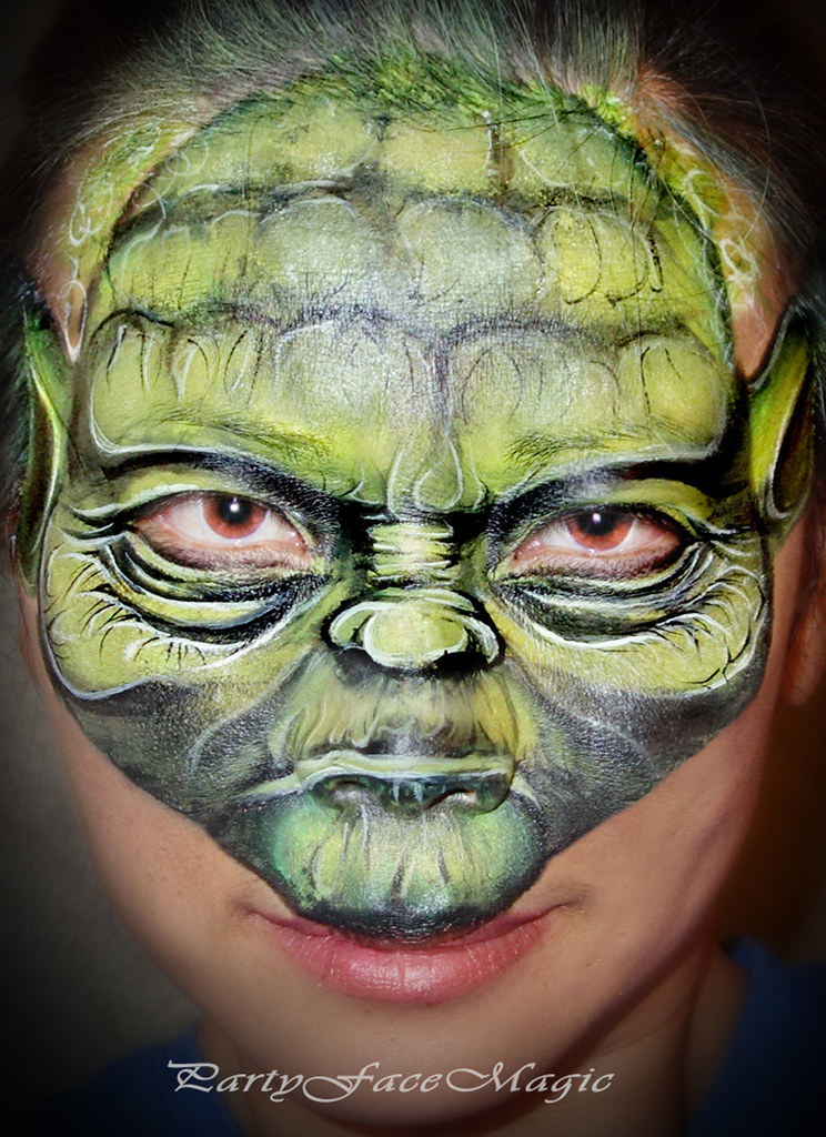 Childrens Clown Face Painting
