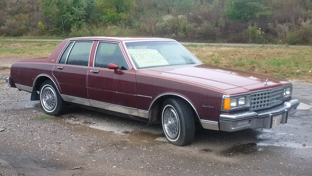 80-\'85 Chevy Caprice, For Sale #1 | Thanks to the \'79 old s… | Flickr