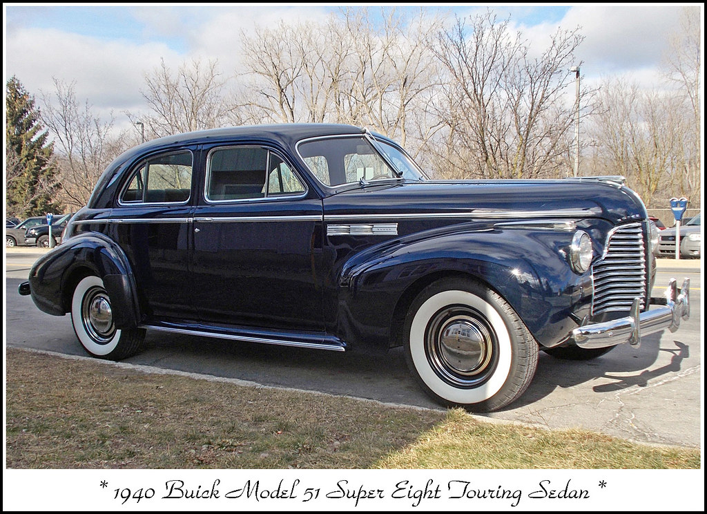 1940 Buick Super Touring Sedan My First Classic Car Photos Flickr