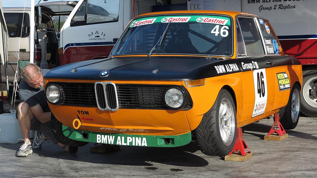Bmw 2002 Tii Race Car >> 1973 BMW 2002 Tii Alpina | 2013 NZFMR, Hampton Downs, NZ | Flickr