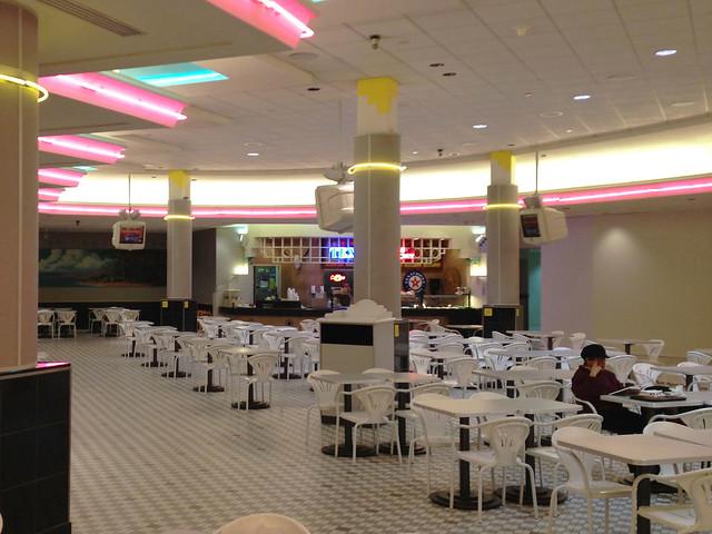 Aesthetic Food Court