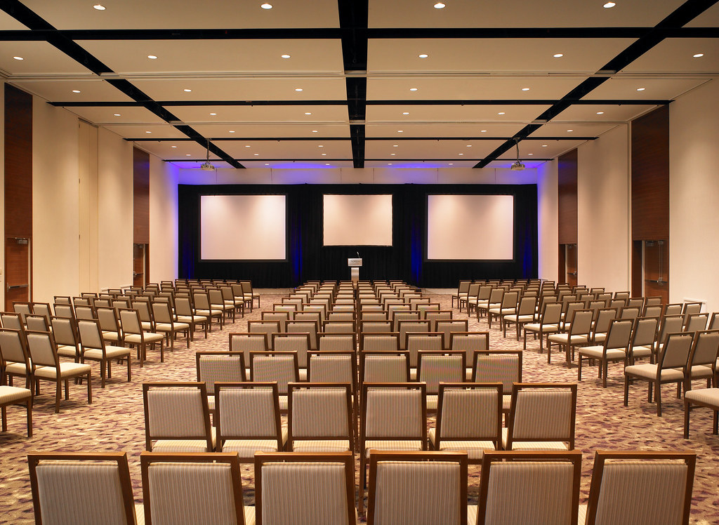 The Westin Wall Centre Vancouver Airport Ballroom Set Up