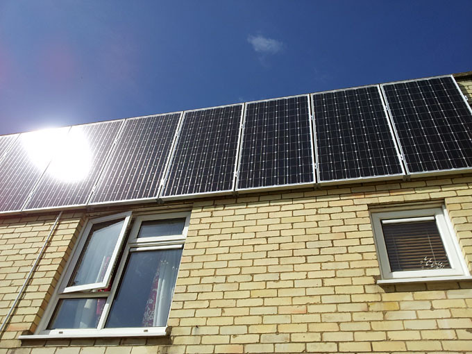Wall Mounted Solar Panels Cambs Cambridge Solar Flickr