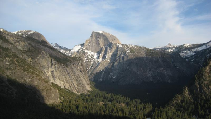 Half Dome from Columbia Rock
