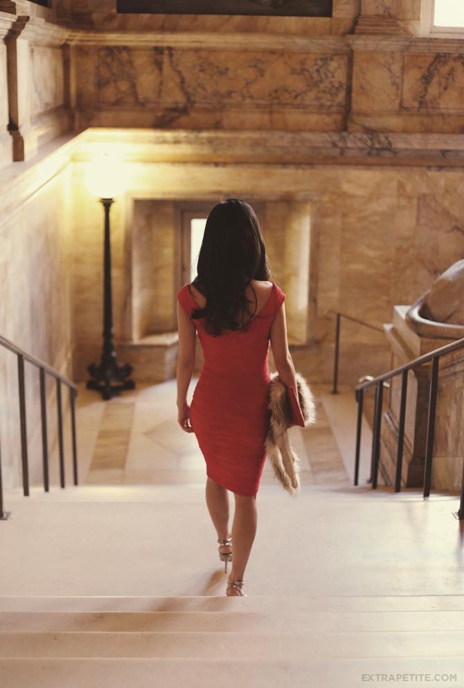 Asos Red Dress Boston Public