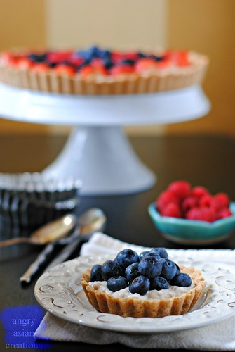 Vegan Fruit Tart | by Lan | MoreStomachBlog