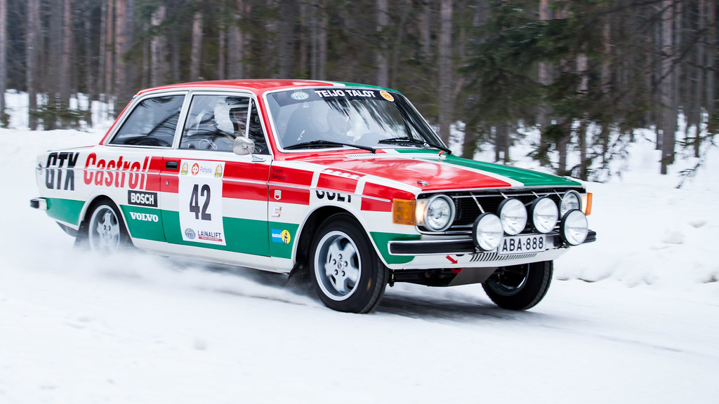 Volvo 142s Group 2 1969 Racing Cars