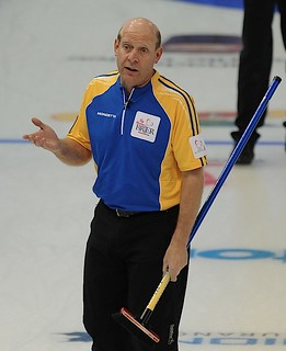 Edmonton Ab.Mar8,2013.Tim Hortons Brier.Alberta skip Kevin Martin.CCA/michael burns photo | by seasonofchampions