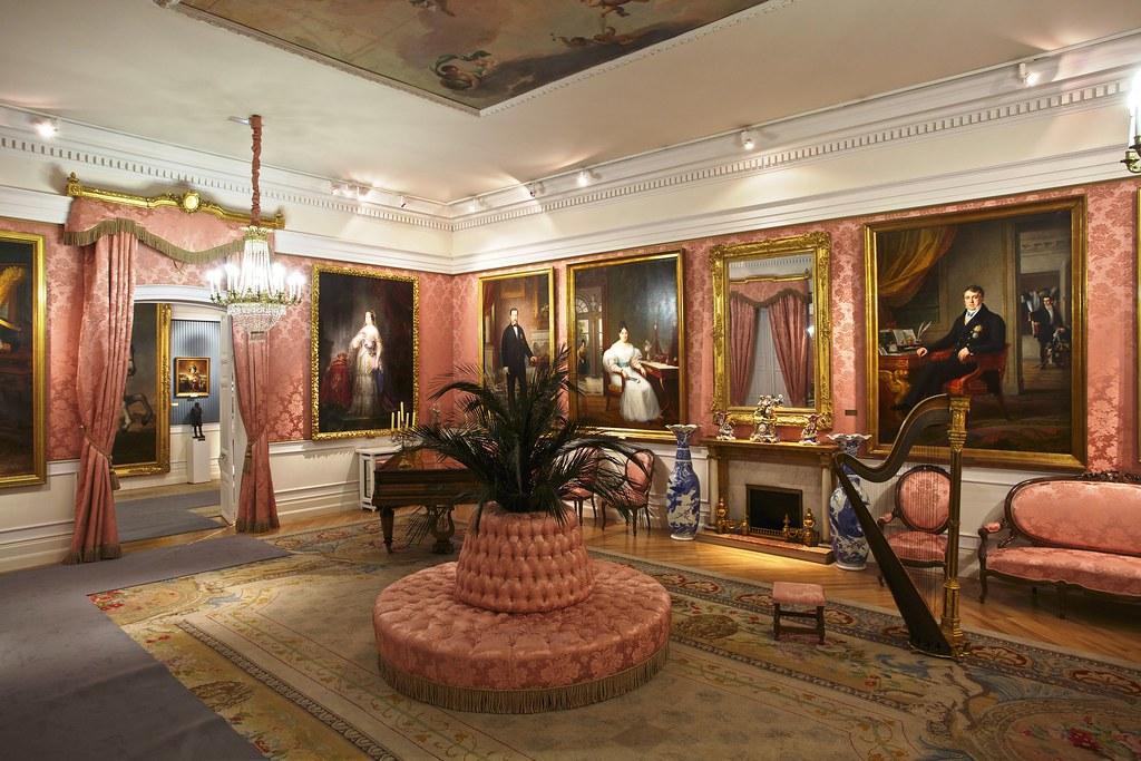 El museo del romanticismo actualidad sal n de baile flickr for Diseno de interiores siglo xix