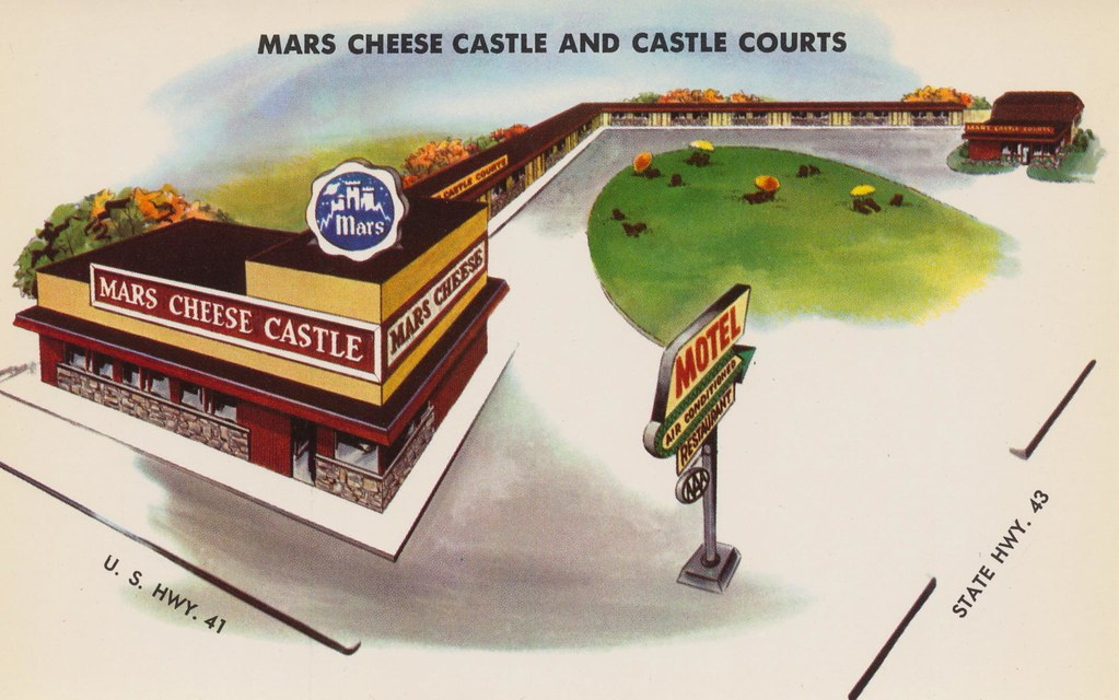 Mars Cheese Castle and Courts - Kenosha, Wisconsin