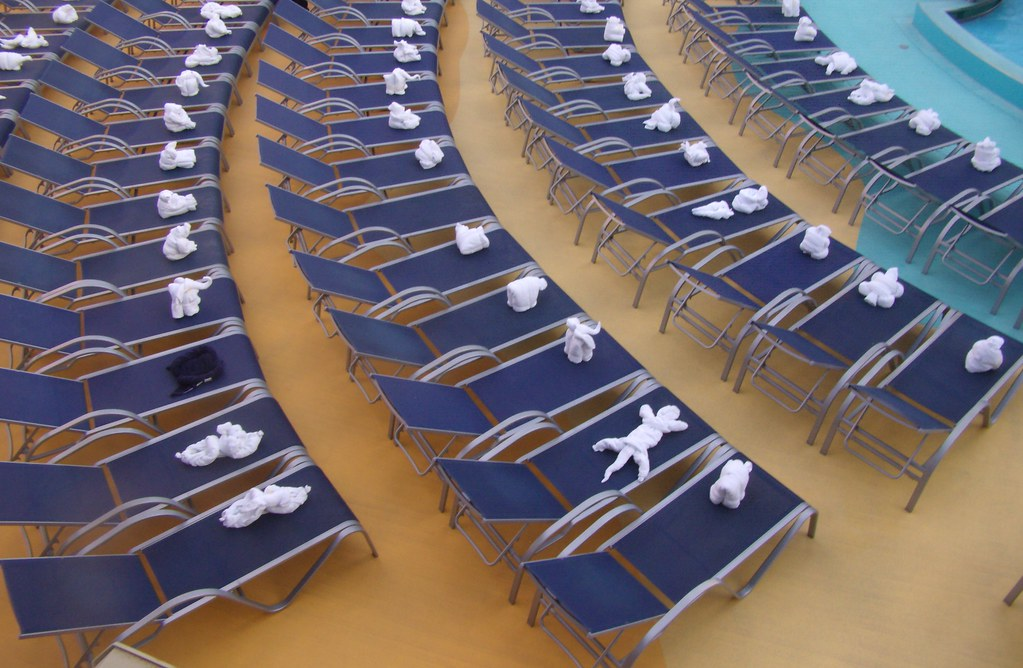 Theyre Alive Towel Origami On Carnival Magic One Nice T Flickr