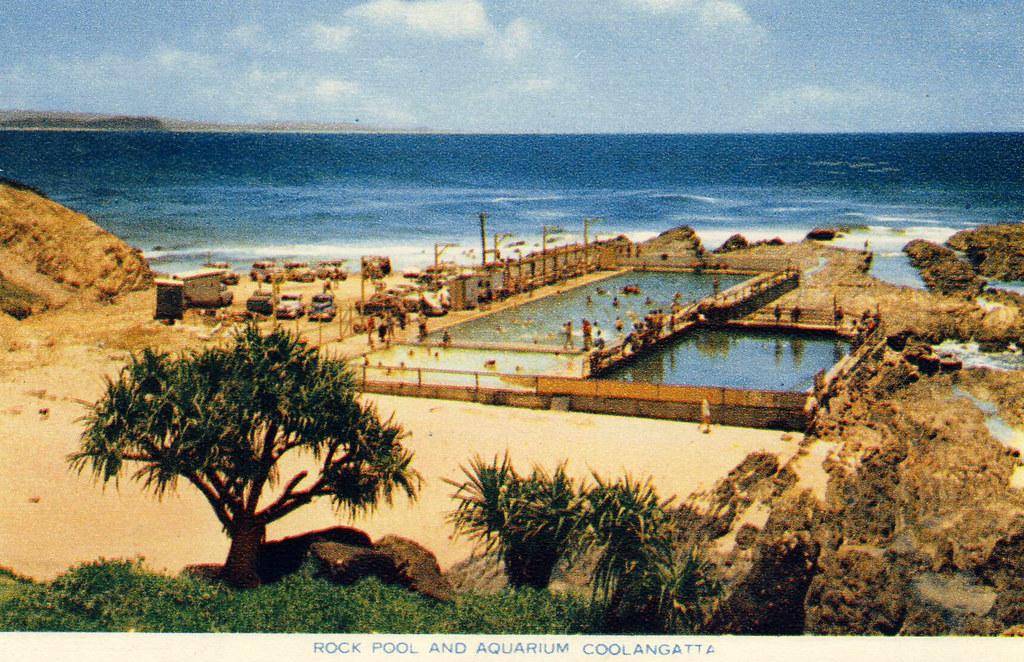 Rock Pool and Aquarium, Coolangatta, Australia - 1960s | Flickr