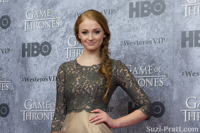Sophie Turner at HBO's