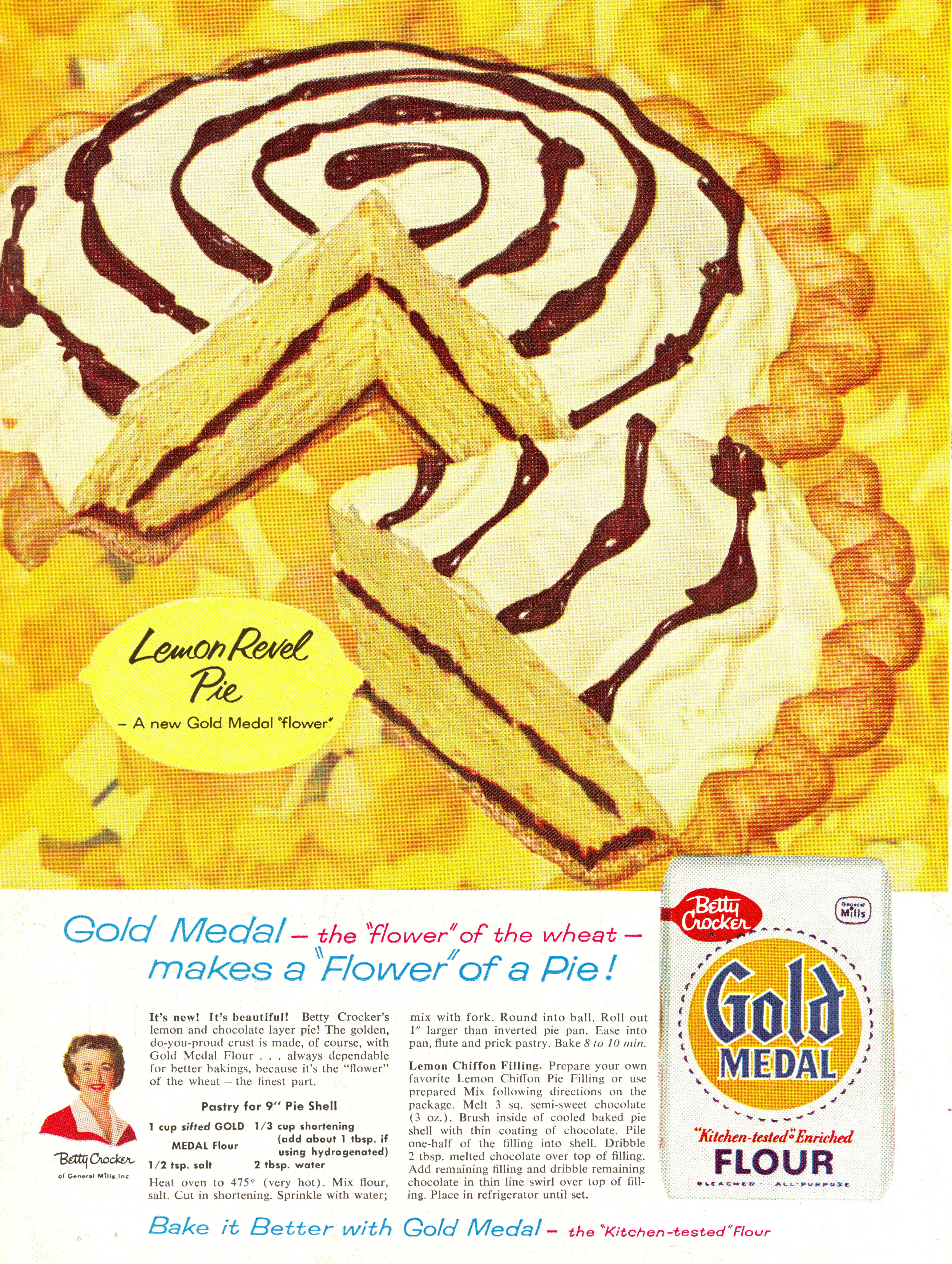 Gold Medal Flour - published in Woman's Day - September 1958