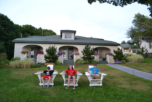 Day 4 - Spruce Point Inn, Boothbay Harbor, ME