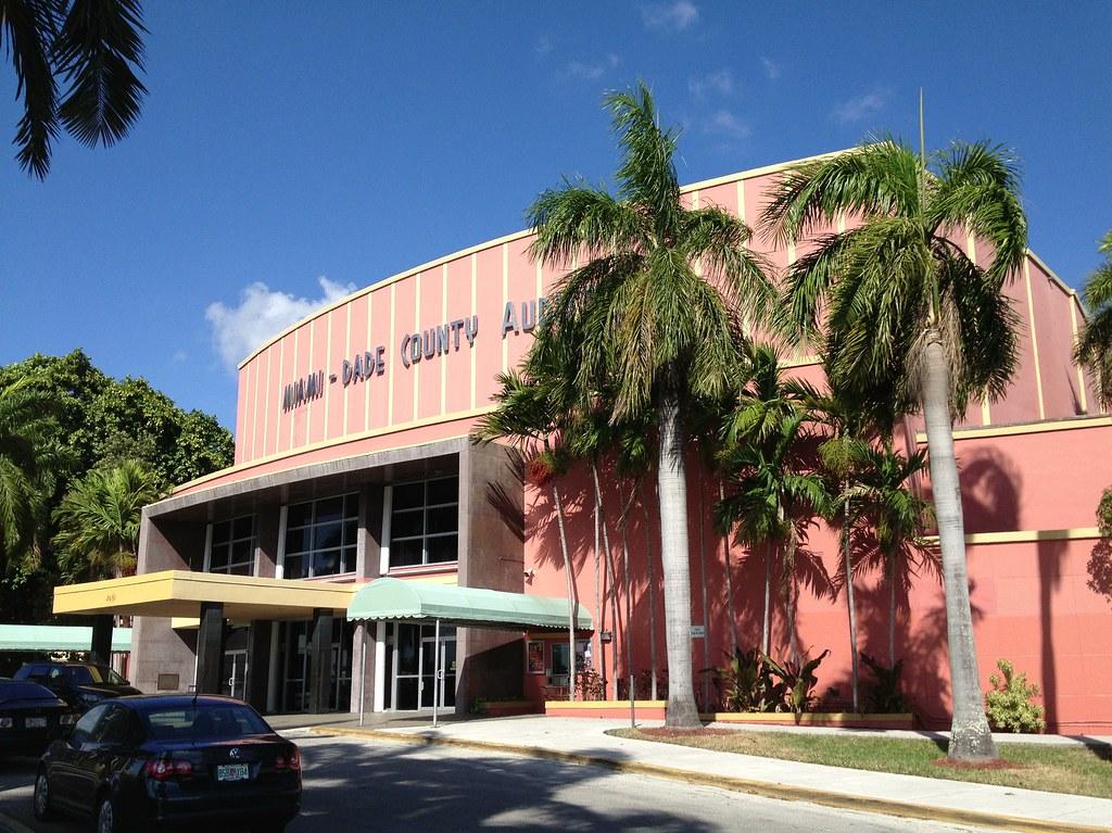 Miami Beach Auditorium The Mad Hyena Wrestler