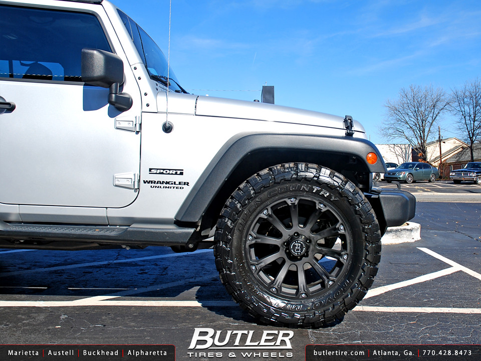 Jeep Wrangler Rhino >> Jeep Wrangler with 20in Black Rhino Sidewinder Wheels | Flickr