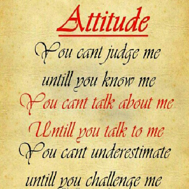 Attitude Girl Love Wallpaper : Living my life, why font you try it #PinQuotes #me #repost? Flickr