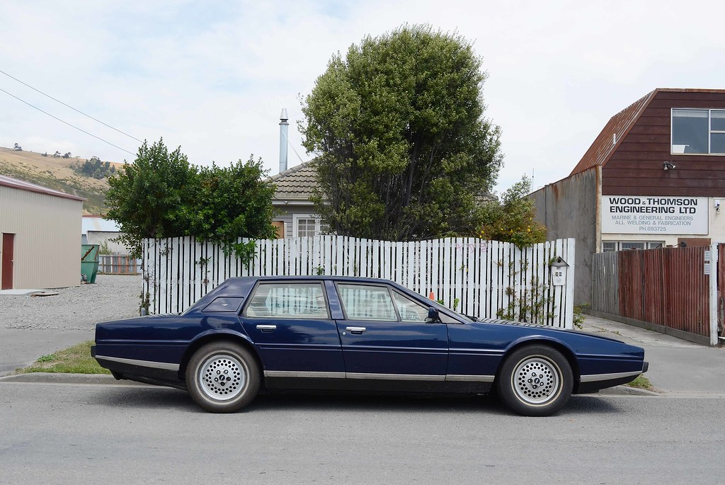 1980 Aston Martin Lagonda Christchurch New Zealand Flickr