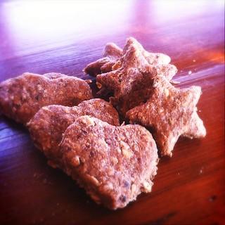 Peanut Butter Dog Food Treats