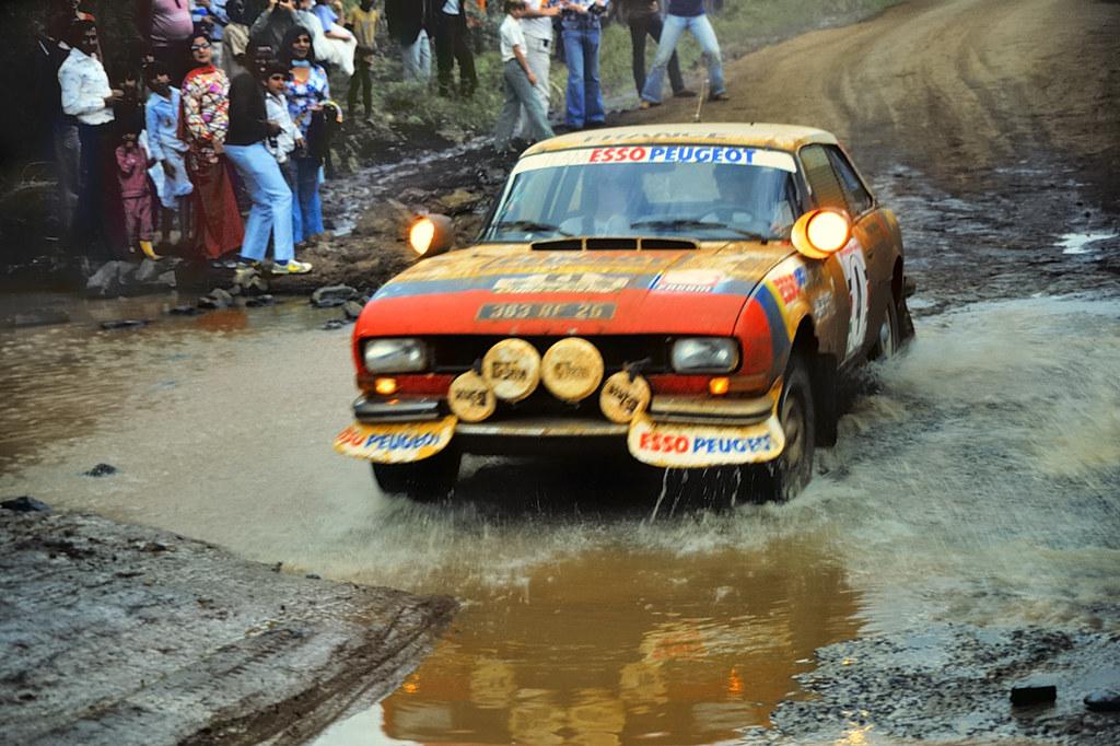 Kenya 1978 East African Safari Winning Car Peugeot 504 Flickr