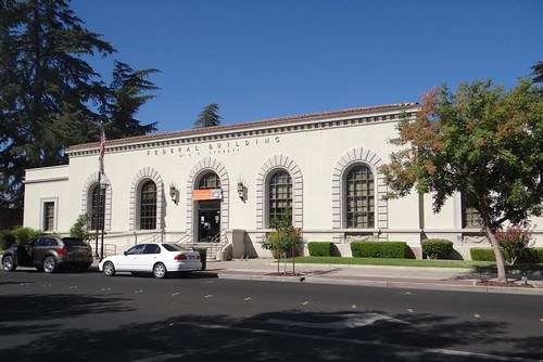 Merced, CA: T. V. Bell Station post office | by PMCC Post Office Photos