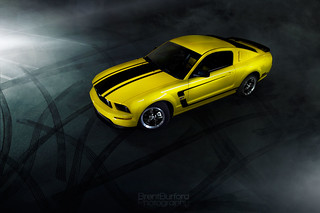 2006 Ford Mustang GT -- Light Painting | by Brent Burford Photography