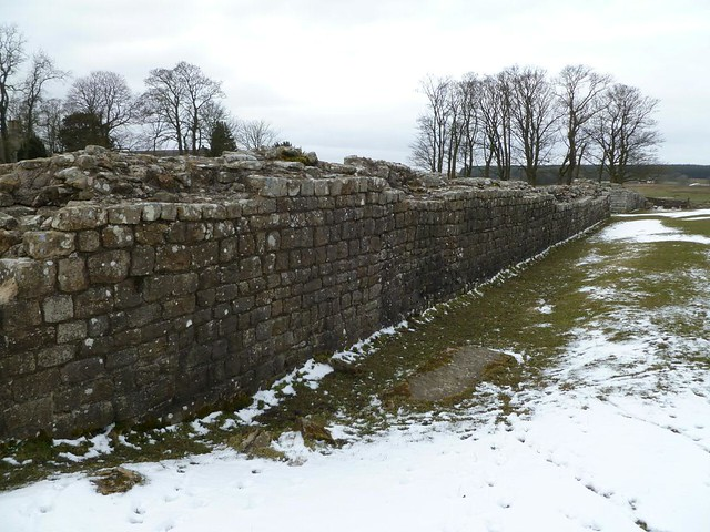 Birdoswald eastern curtain wall