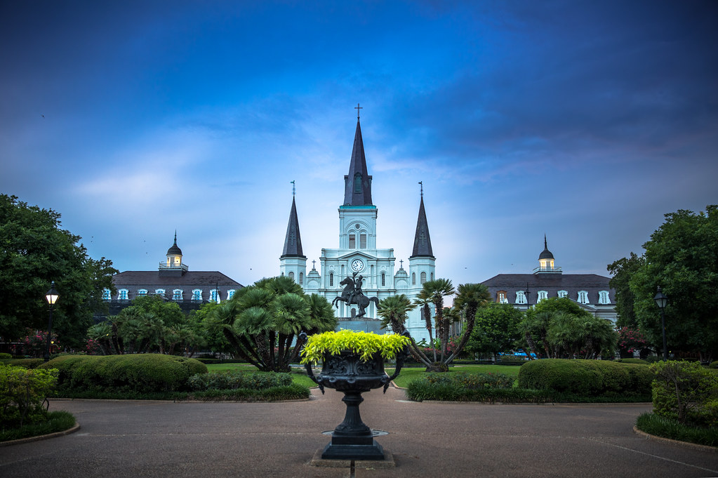 Jackson Square, New Or...