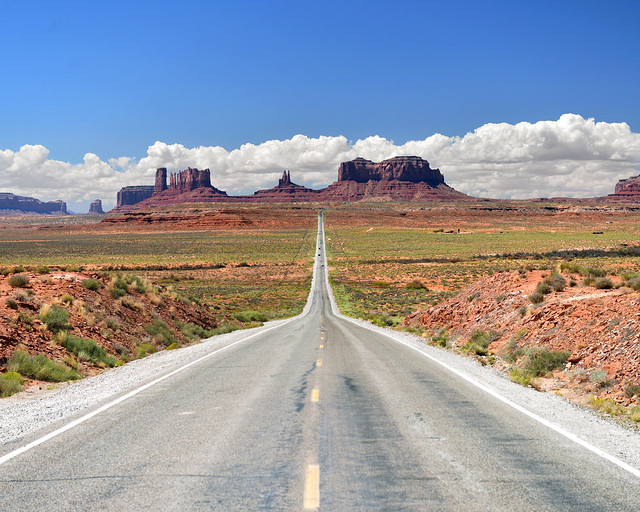 Carretera de Monument Valley