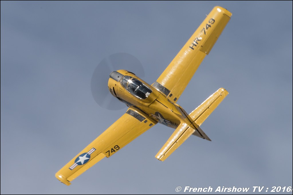 North American T-28C Trojan - F-AZHR , Aéro Fox , 749 ,22 ème meeting aérien international de Roanne , Meeting Aerien Roanne 2016, ICAR Manifestations , Meeting Aerien 2016 , Canon Reflex , EOS System