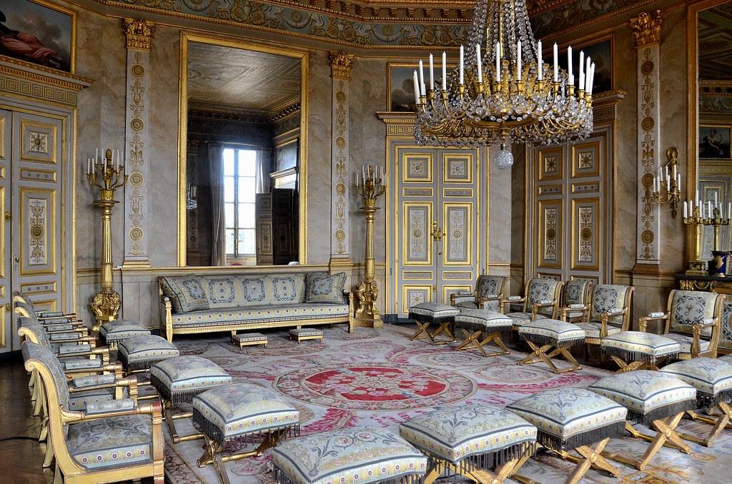 Ch teau de compi gne oise le grand salon ch teau de for Salon 2000 compiegne