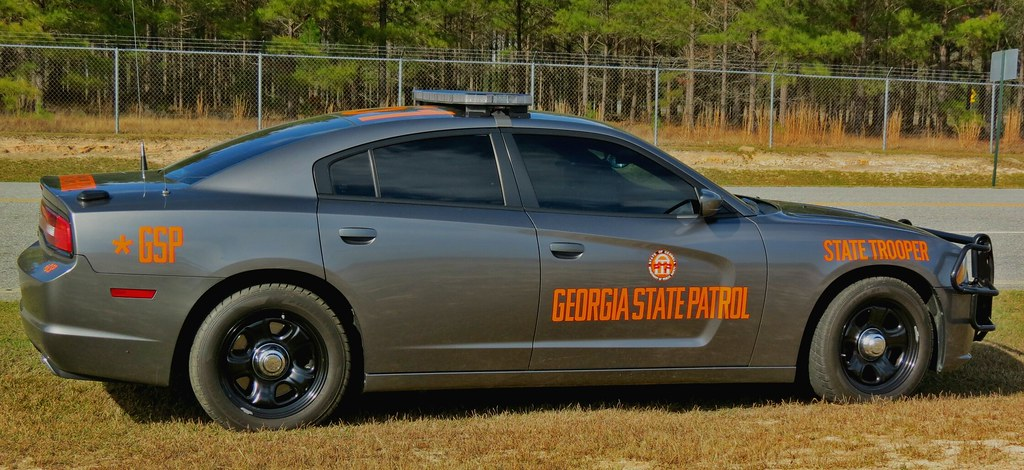 Georgia State Patrol Dodge Charger Special Thanks To The