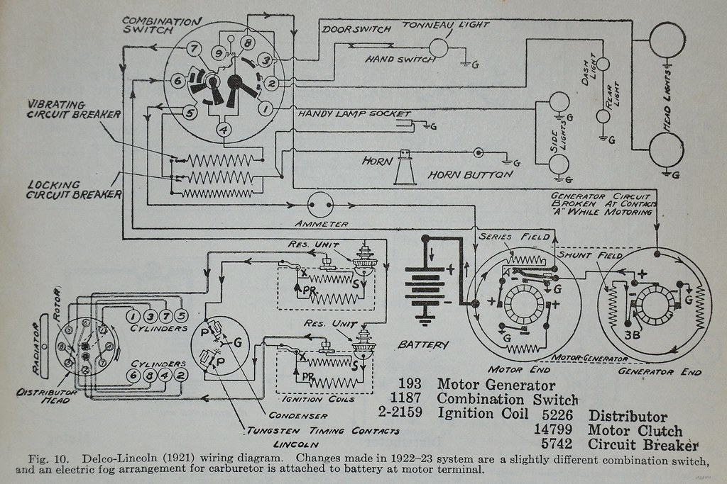 Lincoln  U0026 39 21 Wiring Diagram