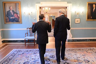 Secretary Kerry Chats With Executive Secretary Bass | by U.S. Department of State