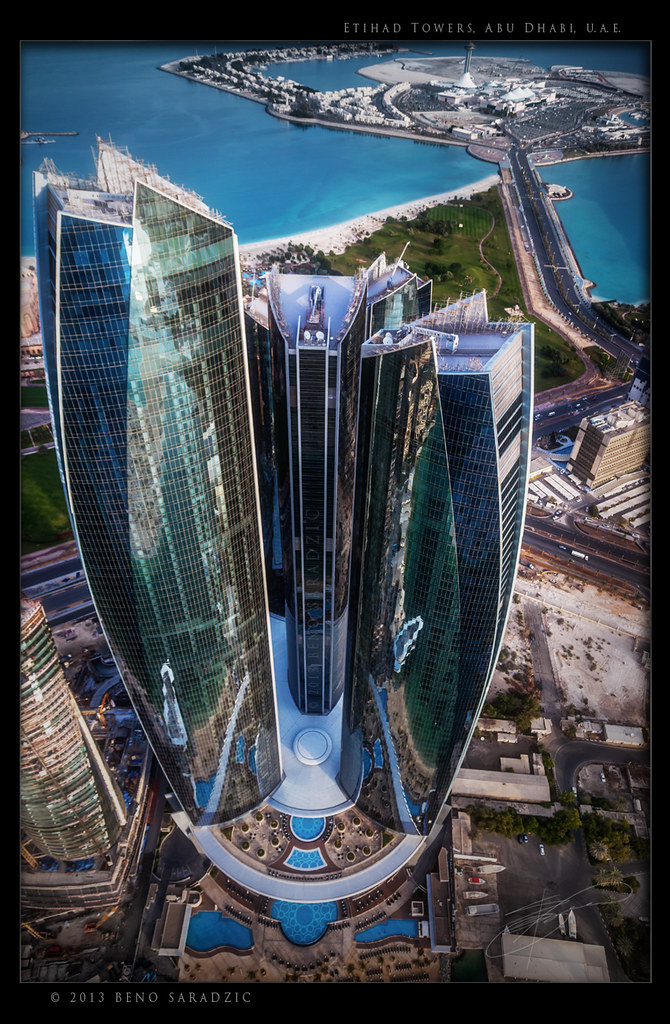 Etihad towers in abu dhabi etihad towers is the name of for Names of famous towers