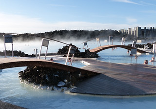 Thermal baths at The Blue Lagoon | by gailhampshire