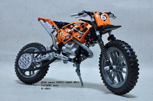 lego technic 42007 moto cross bike lego 42007 moto cross b flickr. Black Bedroom Furniture Sets. Home Design Ideas