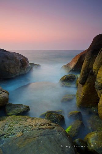 A long exposure sunset :) | by AgniMax