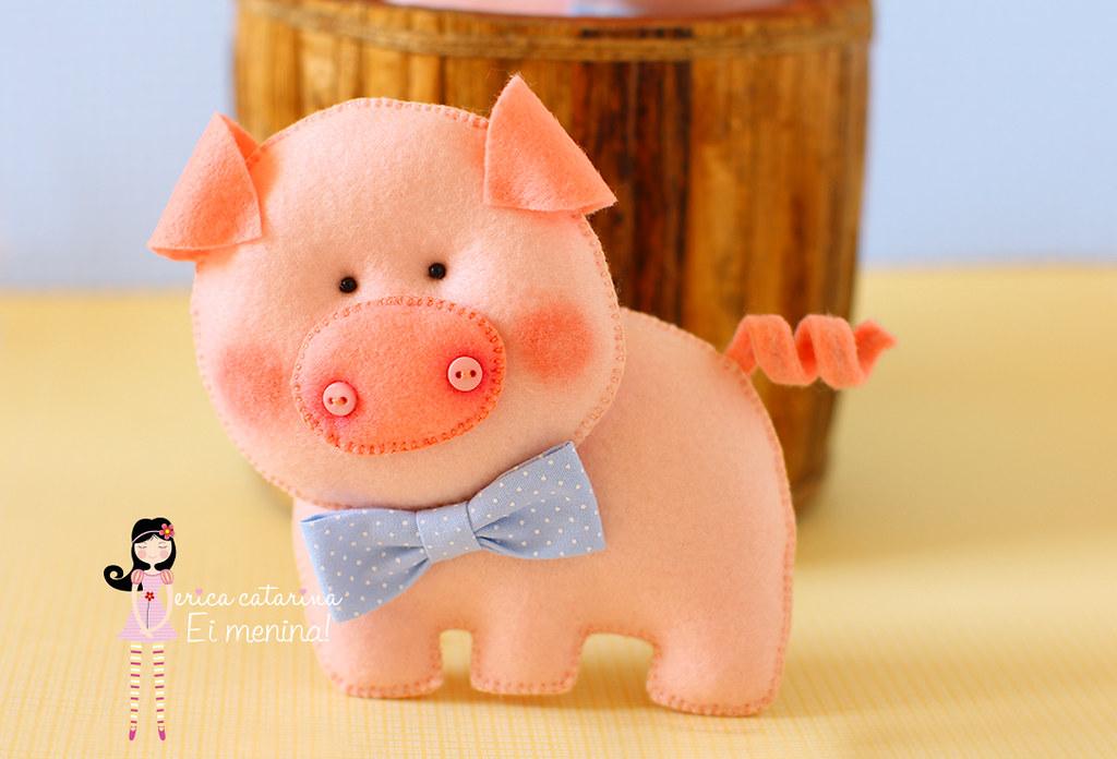 Игрушка свиньи своими руками