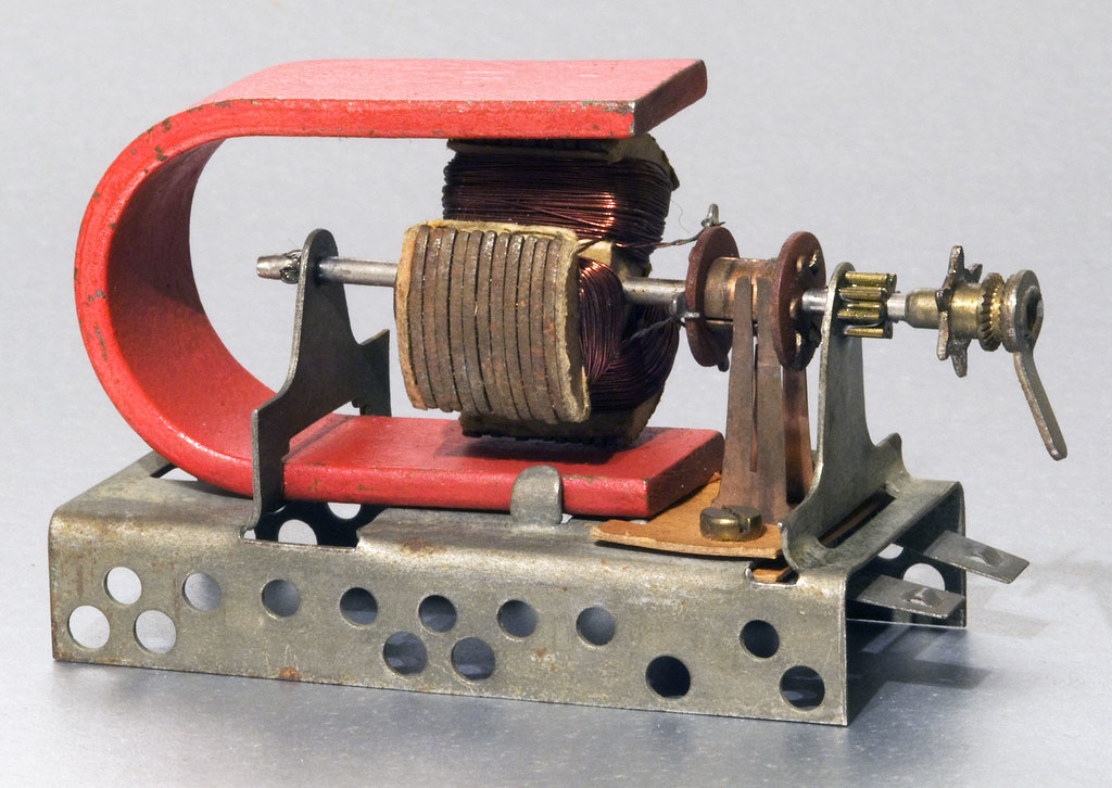 Trix Permag Electric Motor Its About 50 Or 60 Years Old