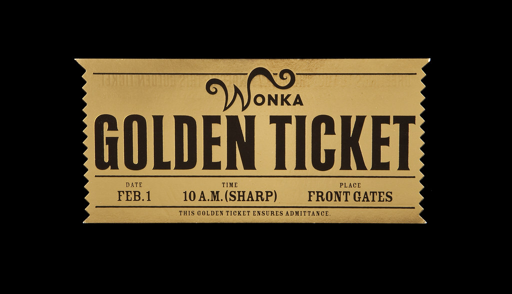 Willy Wonka Golden Ticket Invitation Template were Awesome Ideas To Create Best Invitation Ideas