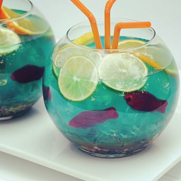 Nice fish bowl bartender mixologist mixology into for Fish bowl punch