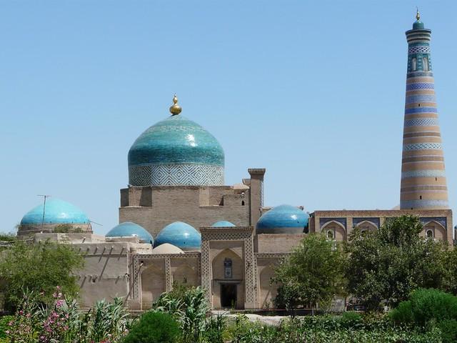 Mezquita en Khiva (Uzbekistán)