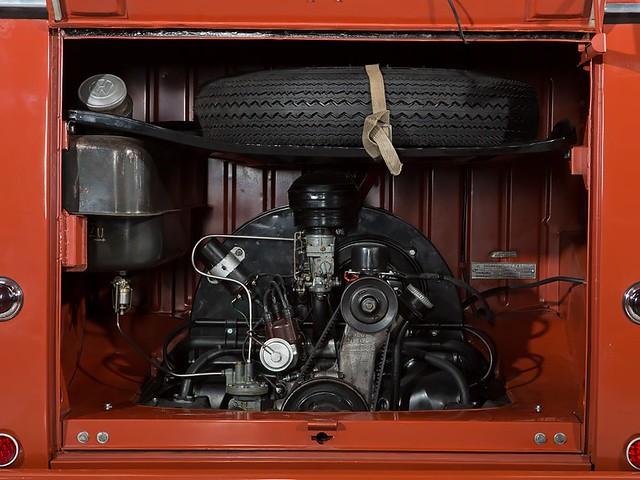 1,2-литровый двигатель Volkswagen T1 Fenster Barndoor Samba