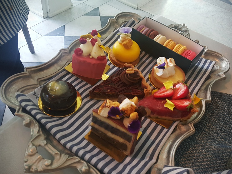 Colette Grand Cafe desserts