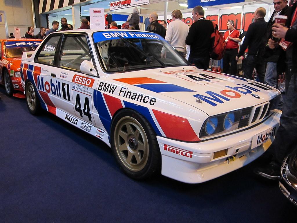 Ex Steve Soper Btcc Mobil 1 Bmw M3 E30 Autosport