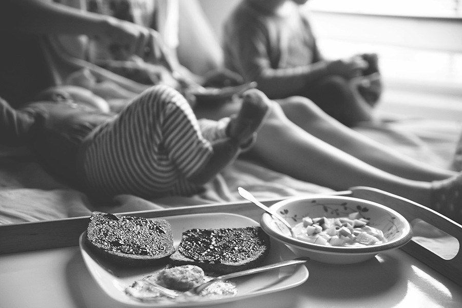{ blog } Breakfast In Bed