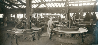 Wallsend Slipway: Photograph of the Iron Foundry Department (Machine moulding) | by Tyne & Wear Archives & Museums