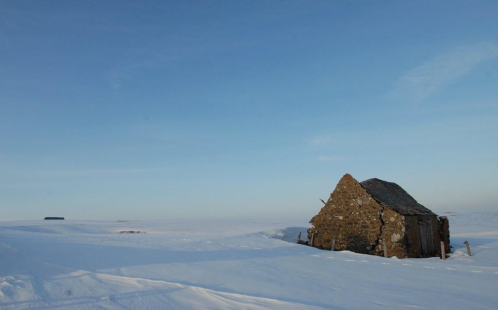 Buron des mattes 1350m plateau de l 39 aubrac pr s de for Buron aubrac